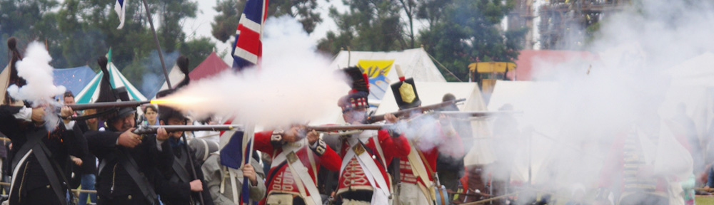 History Alive - Musket Volley v2